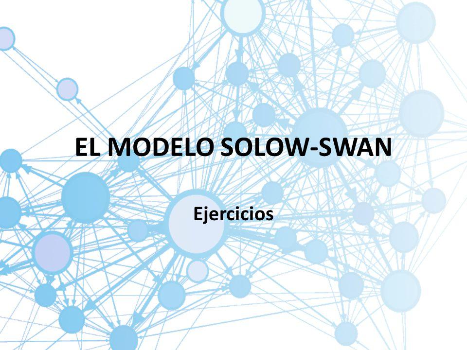 EL MODELO SOLOW-SWAN Ejercicios