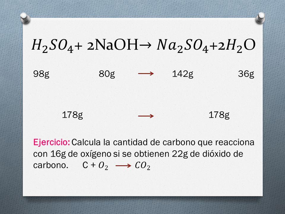 LEY DE LAS PROPORCIONES DEFINIDAS O LEY DE PROUST En toda reacción química, los reactantes y productos se combinan manteniendo sus mol o masas en una proporción constante y definida.