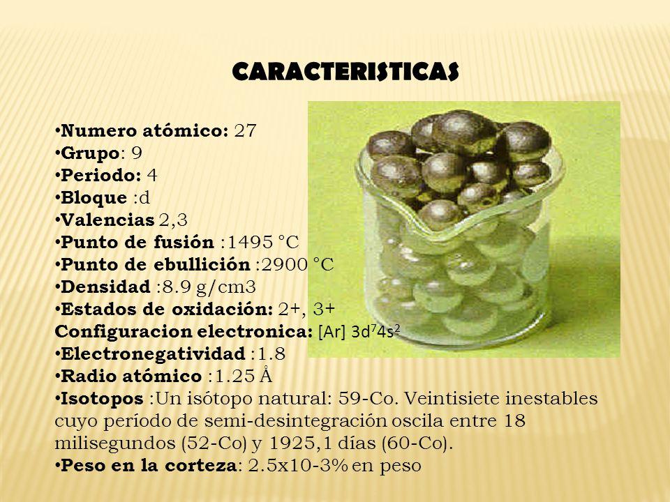 Los compuestos más importantes son: El tetracarbonilo de níquel es sumamente venenoso y forma mezclas explosivas con el aire.