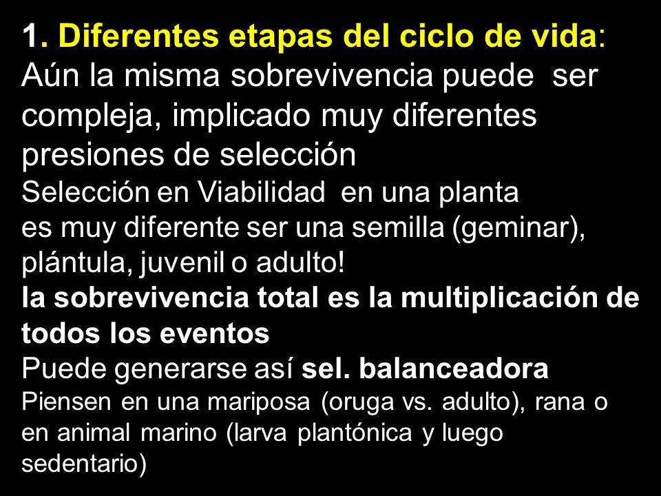 Ecología Genética y Sel. Balanceadora selección balanceadora dependiente de la densidad
