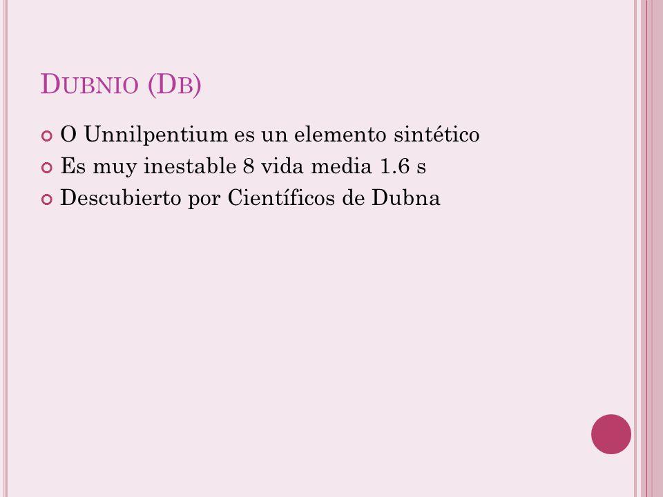C URIOSIDADES Vanadio: fue descubierto por Manuel del rio en México en 1801, es muy colorido en disolución ( V 5+ incoloro, V 4+ azul, V 3+ verde V 2+