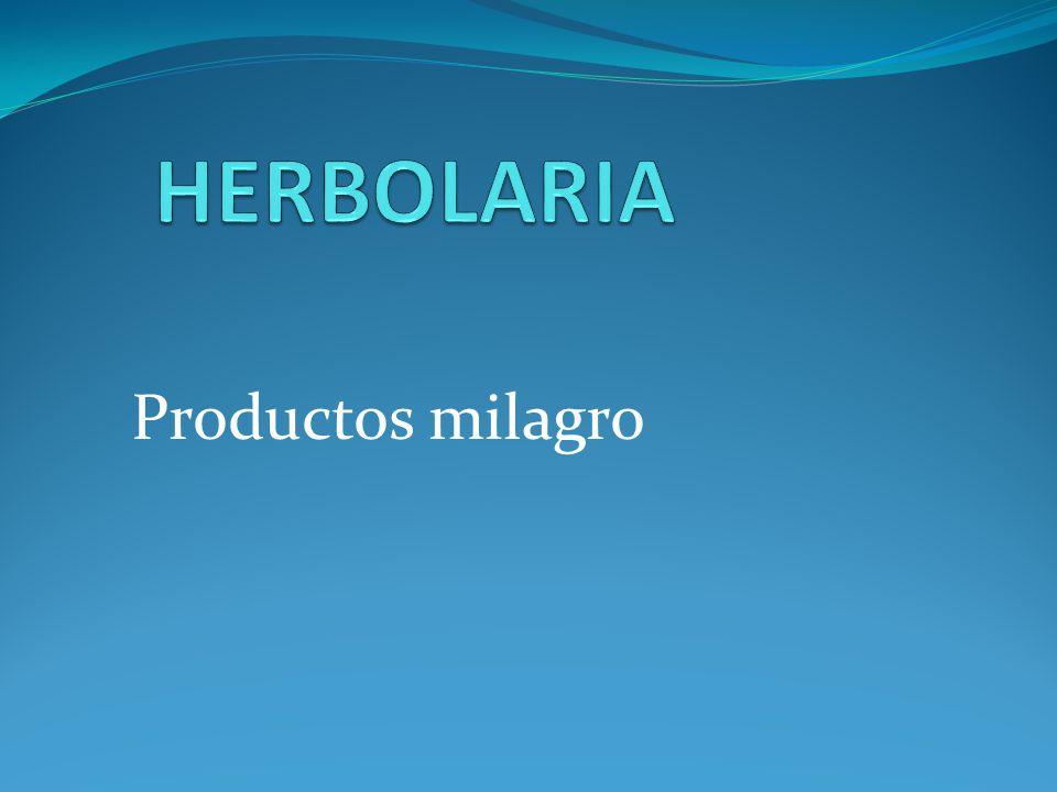 Productos milagro