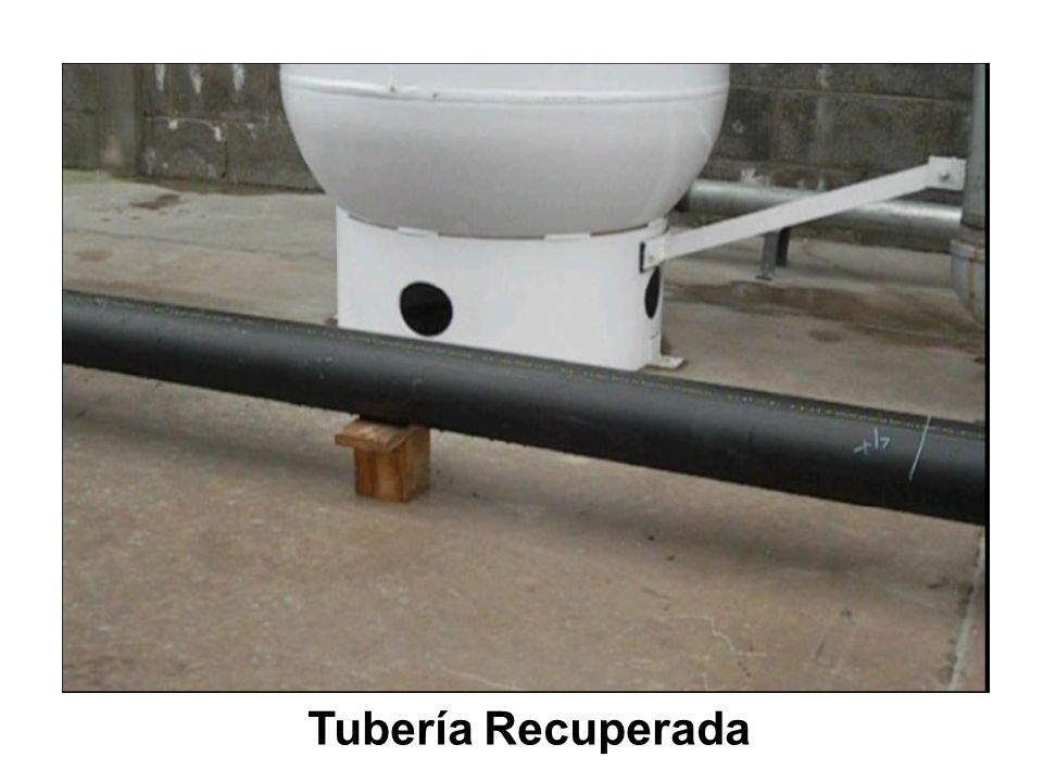 Tubería Recuperada
