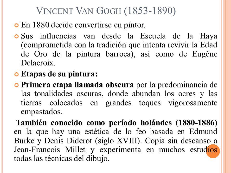 LOS COMEDORES DE PATATAS N UENEN, ABRIL DE 1885, ÓLEO / LIENZO, 82 X 114 CM.