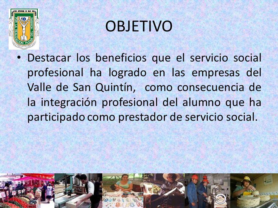 El trabajo de campo se realiza en la región del Valle de San Quintín, poblado perteneciente al municipio de Ensenada, Baja California, Mexico.