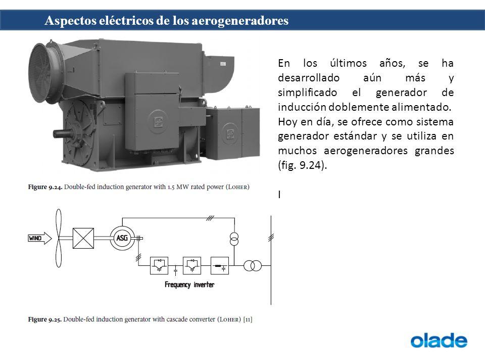 Aspectos eléctricos de los aerogeneradores