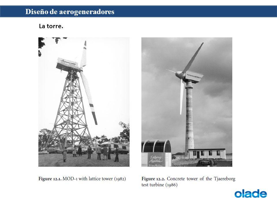 Diseño de aerogeneradores La torre.