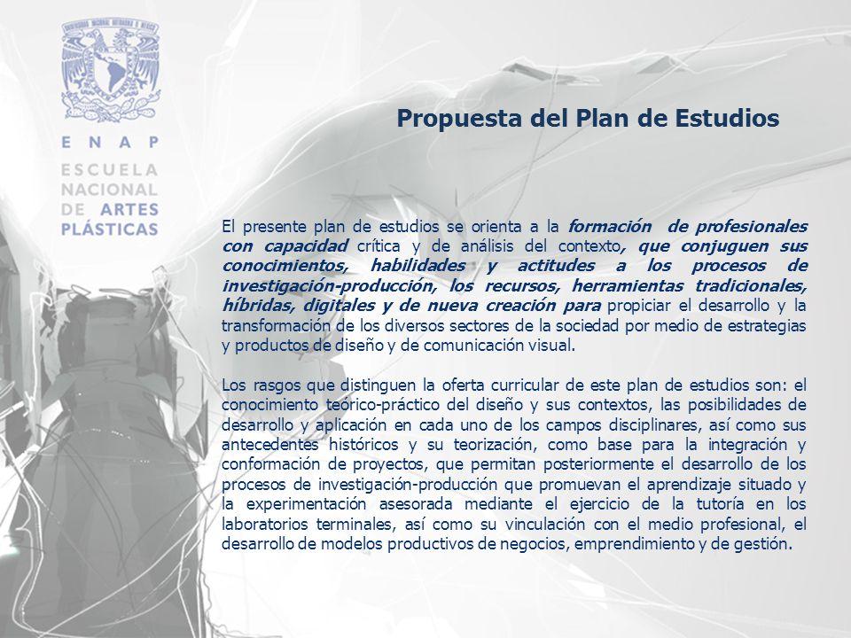 El presente plan de estudios se orienta a la formación de profesionales con capacidad crítica y de análisis del contexto, que conjuguen sus conocimien