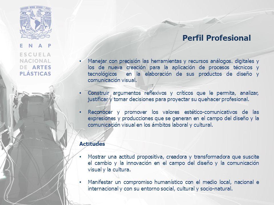 Participar, coordinar, fundamentar y gestionar proyectos de investigación-producción con responsabilidad, ética y valores profesionales.