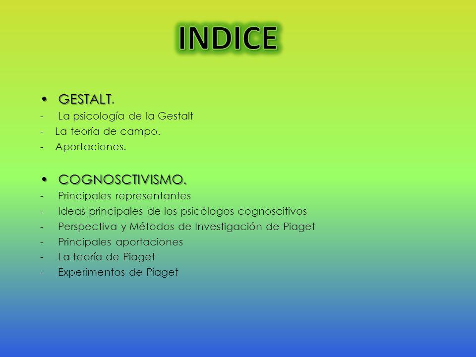 Piaget inició sus trabajos alrededor de tres campos del conocimiento científico: la biología, la filosofía y la psicología.