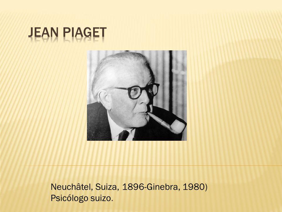 Neuchâtel, Suiza, 1896-Ginebra, 1980) Psicólogo suizo.