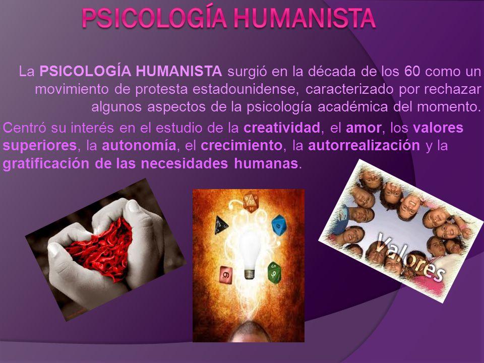 APORTACIONES Los psicólogos deben de estudiar a los seres humanos como IDENTIDADES COMPLETAS