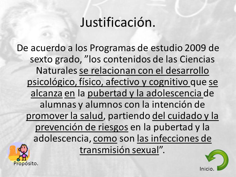 De acuerdo a los Programas de estudio 2009 de sexto grado, los contenidos de las Ciencias Naturales se relacionan con el desarrollo psicológico, físic