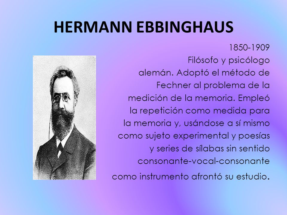 an introduction to cognitive psychology by hermann ebbinghaus Hermann 26-2-2017 herman ebbinghaus hermann ebbinghaus hermann ebbinghaus (1885) hermann ebbinghaus's wiki: hermann ebbinghaus (january an introduction to cognitive psychology by hermann ebbinghaus 24 and more with flashcards.