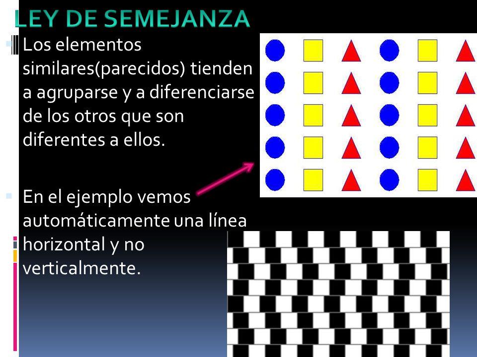 Los elementos similares(parecidos) tienden a agruparse y a diferenciarse de los otros que son diferentes a ellos.