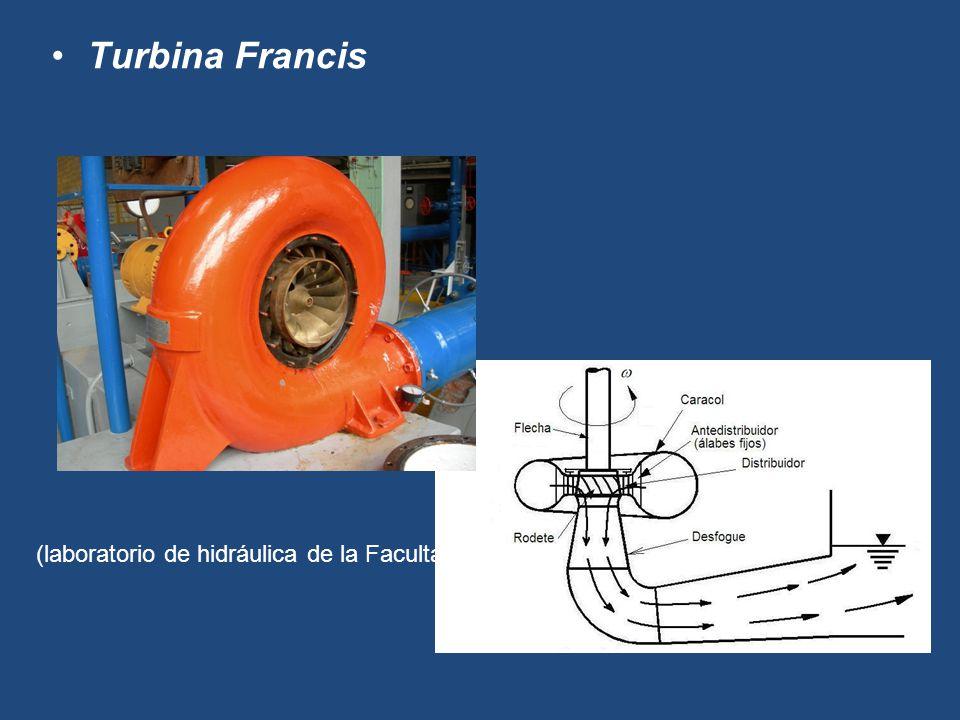 (Turbina Francis del laboratorio de hidráulica de la Facultad)