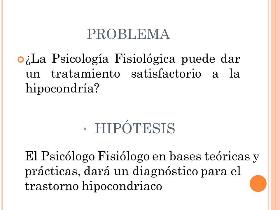 MARCO TEÓRICO La Psicología Fisiológica es una de las disciplinas comprendidas dentro de las neurociencias.