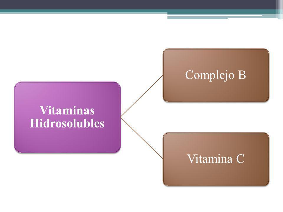 Vitaminas Hidrosolubles Complejo BVitamina C