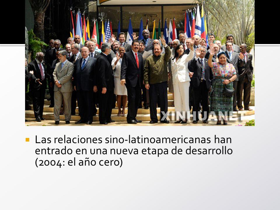 Las relaciones sino-latinoamericanas han entrado en una nueva etapa de desarrollo (2004: el año cero)
