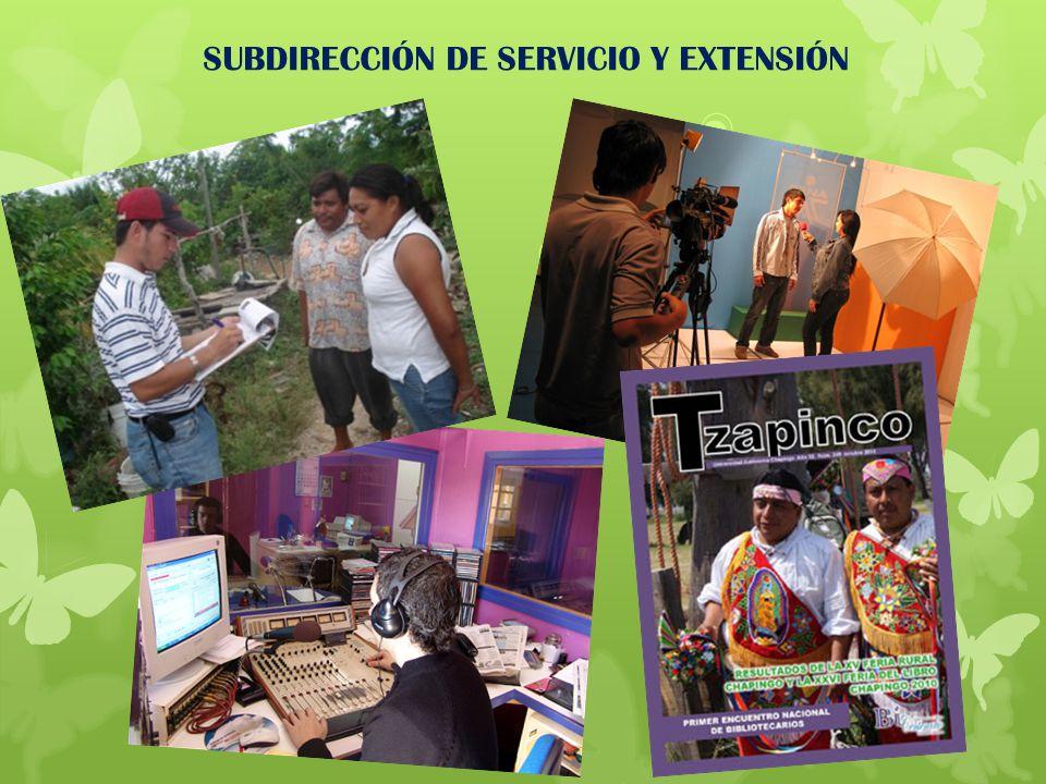 SUBDIRECCIÓN DE SERVICIO Y EXTENSIÓN