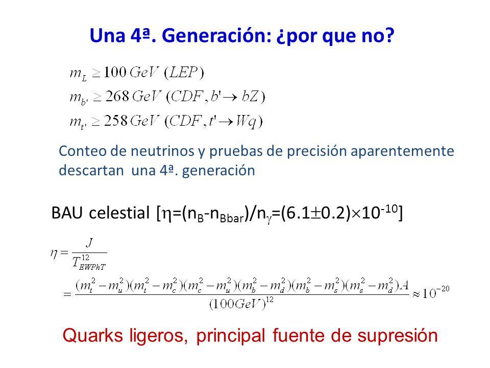 Una 4ª. Generación: ¿por que no.