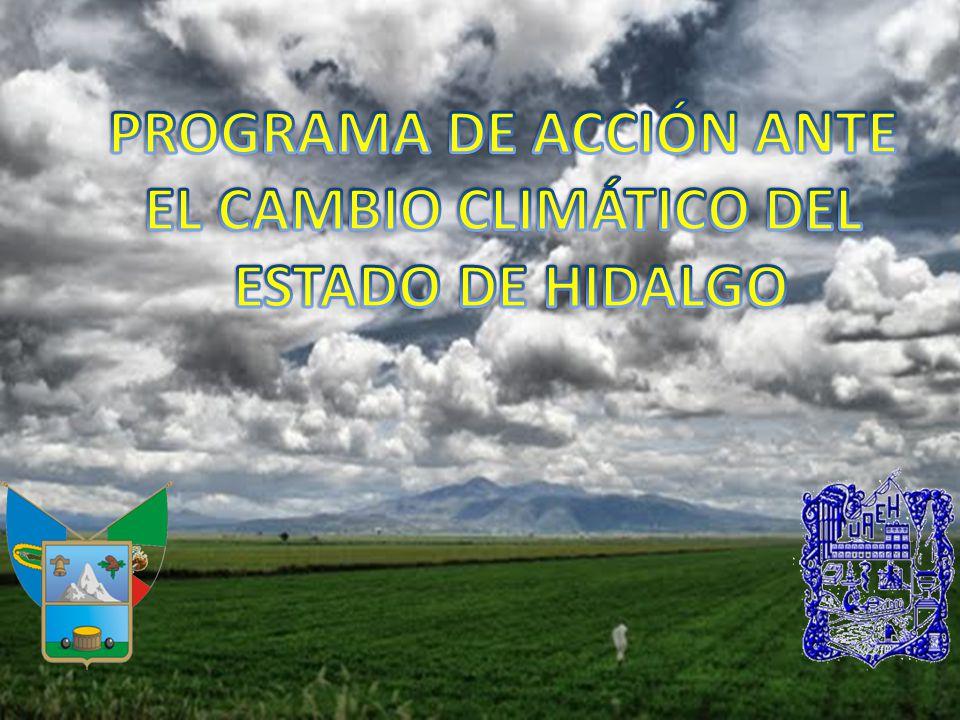 México cuenta con una Estrategia Nacional para enfrentar el Cambio Climático (2007) y se complementó con un Programa Especial de Cambio Climático (2009).