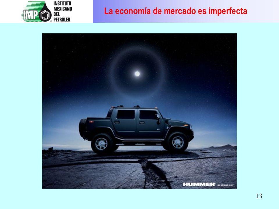 13 La economía de mercado es imperfecta