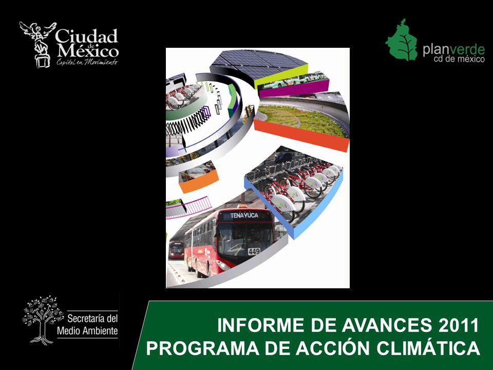 INFORME DE AVANCES 2011 PROGRAMA DE ACCIÓN CLIMÁTICA