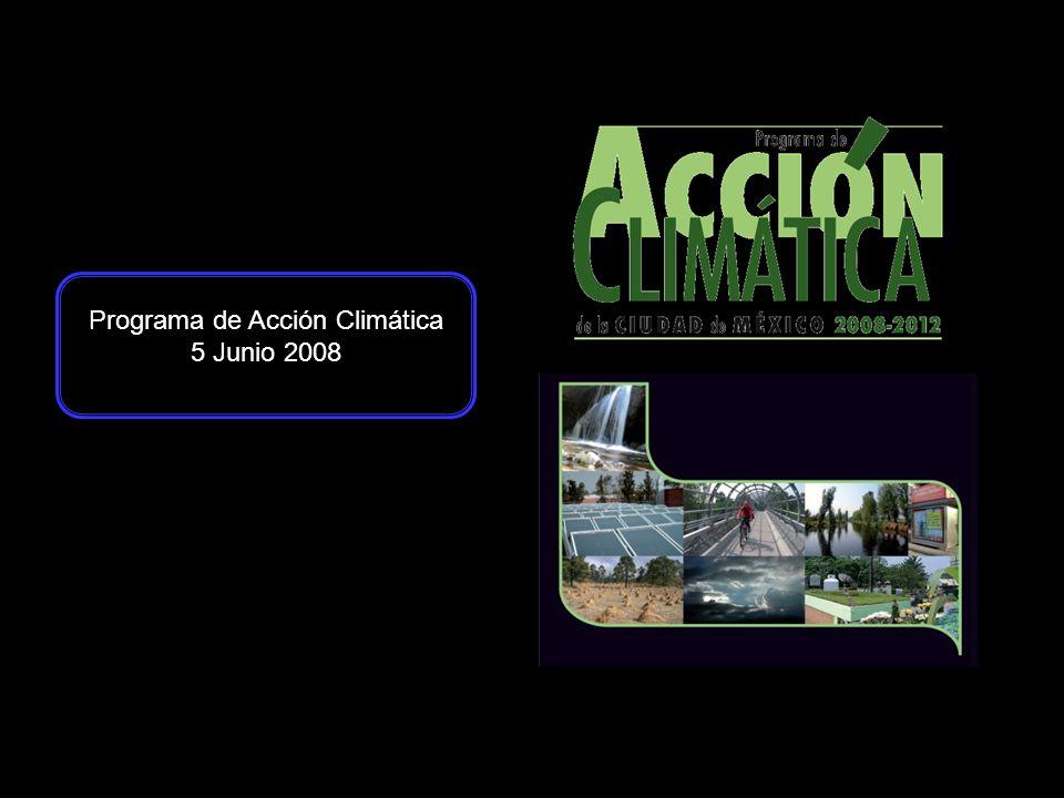 Programa de Acción Climática 5 Junio 2008