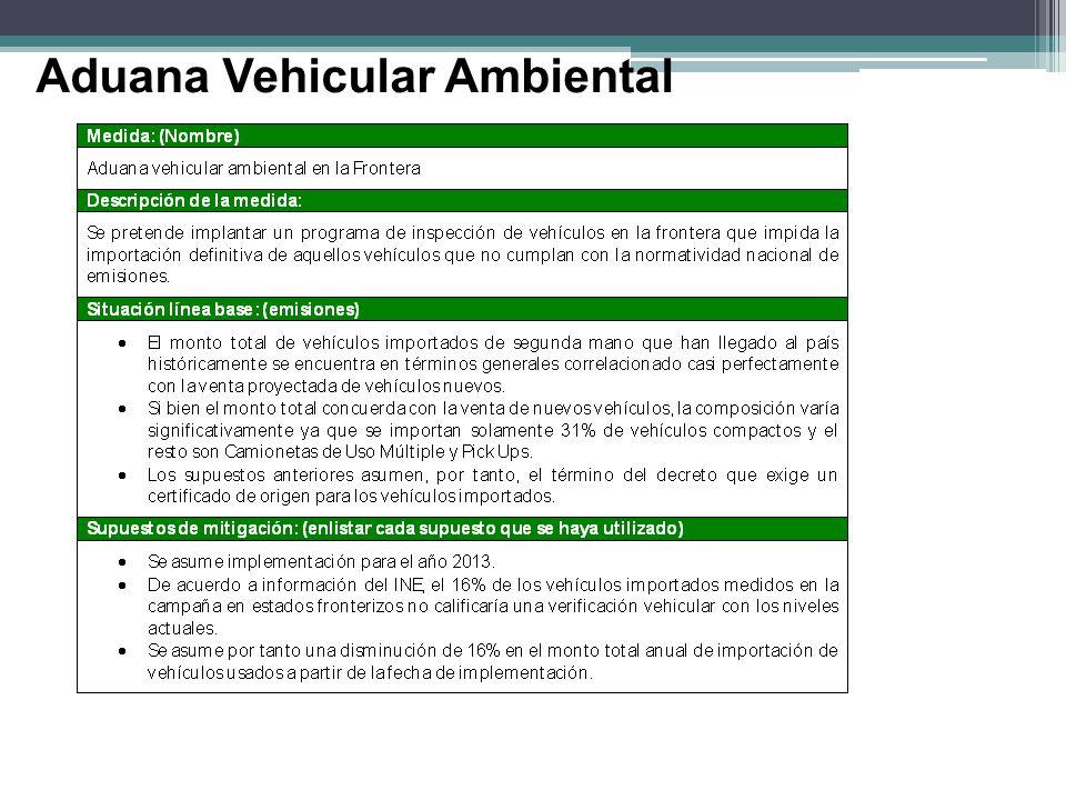 Aduana Vehicular Ambiental