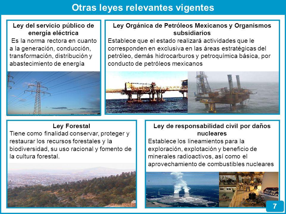 Normas Oficiales Mexicanas 8 Artículo 36 de la Ley General de Equilibrio Ecológico y Protección al Ambiente Considera que las Normas Oficiales Mexicanas en materia ambiental serán emitidas por la Secretaria de Medioambiente y Recursos Naturales para garantizar la sustentabilidad de las actividades económicas, y para el aprovechamiento sustentable de los recursos naturales A partir de 1993, y haciendo un corte al 2007, SEMARNAT, ha emitido 112 normas oficiales, relativas al medioambiente, quedando distribuido, en atención a los años de su publicación, de la manera siguiente: 1993, 16; 1994, 5; 1995, 9; 1996, 10; 1997, 7; 1998, 8; 1999, 5; 2000, 3; 2001, 10; 2002, 4; 2003, 8; y 2004, 9; 2005, 5; 2006, 4 y 2007, 9.