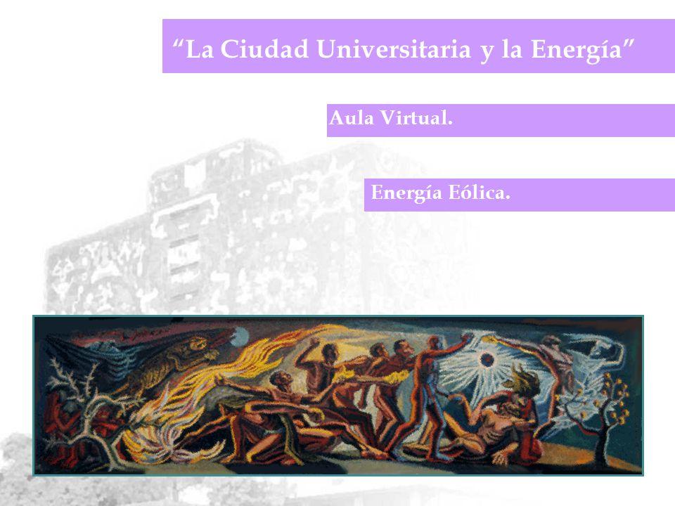 Aula Virtual. La Ciudad Universitaria y la Energía Energía Eólica.