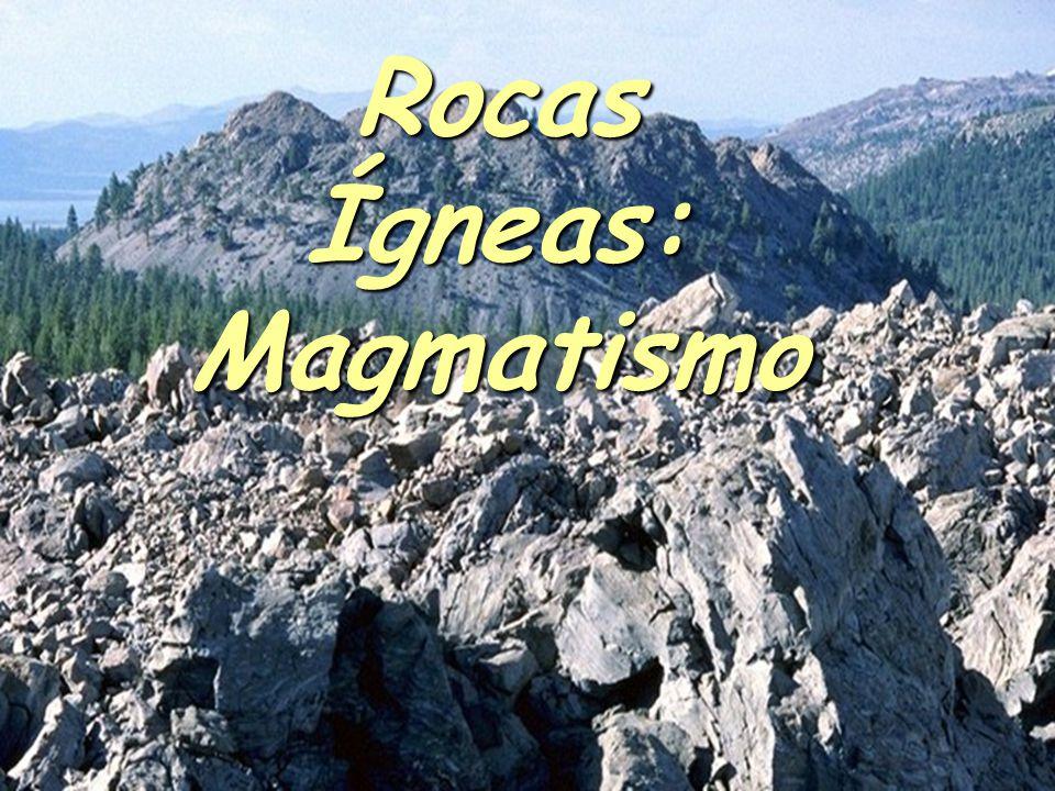 Origen De Los Magmas @La Corteza y el Manto están compuestos fundamentalmente de roca sólida, no fundida.