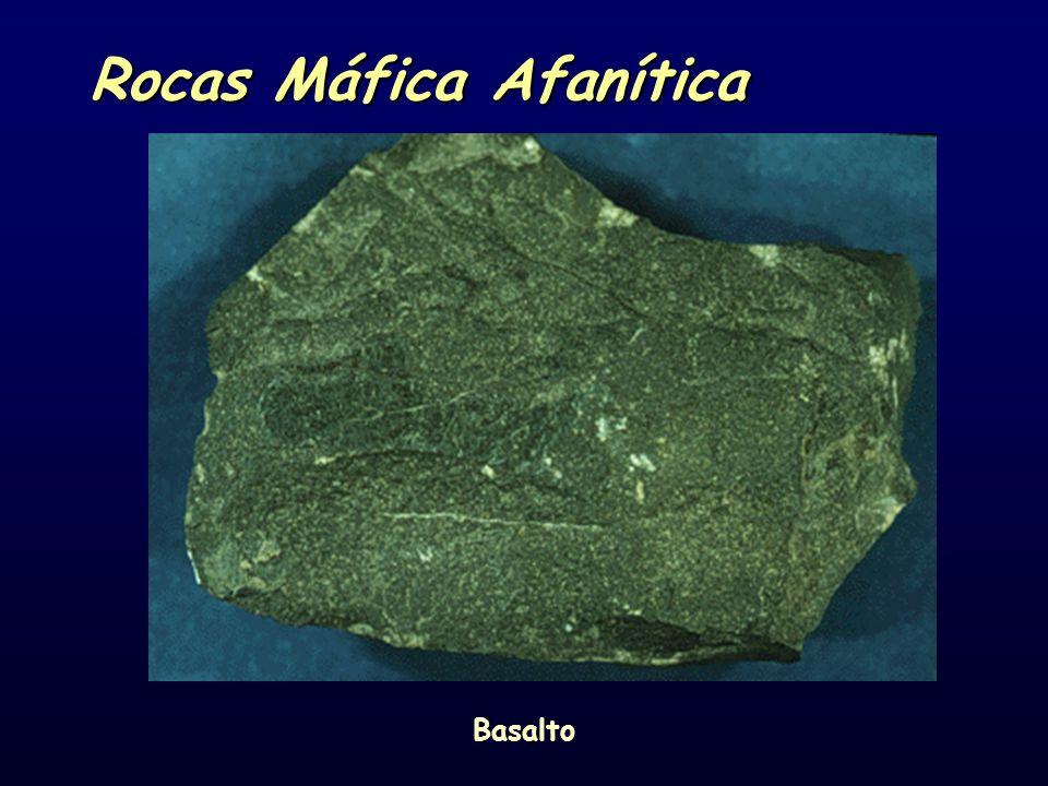 Rocas Máfica Afanítica Basalto