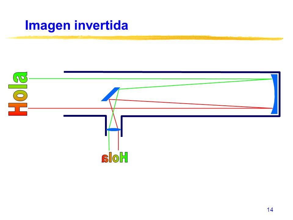 14 Imagen invertida