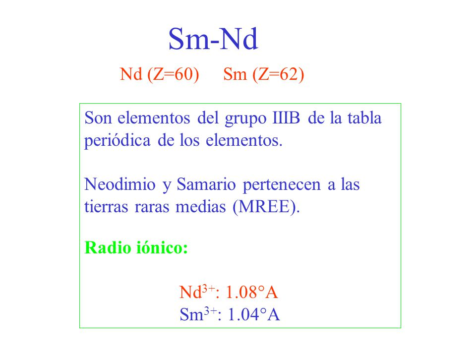t = 143 Nd 144 Nd med.