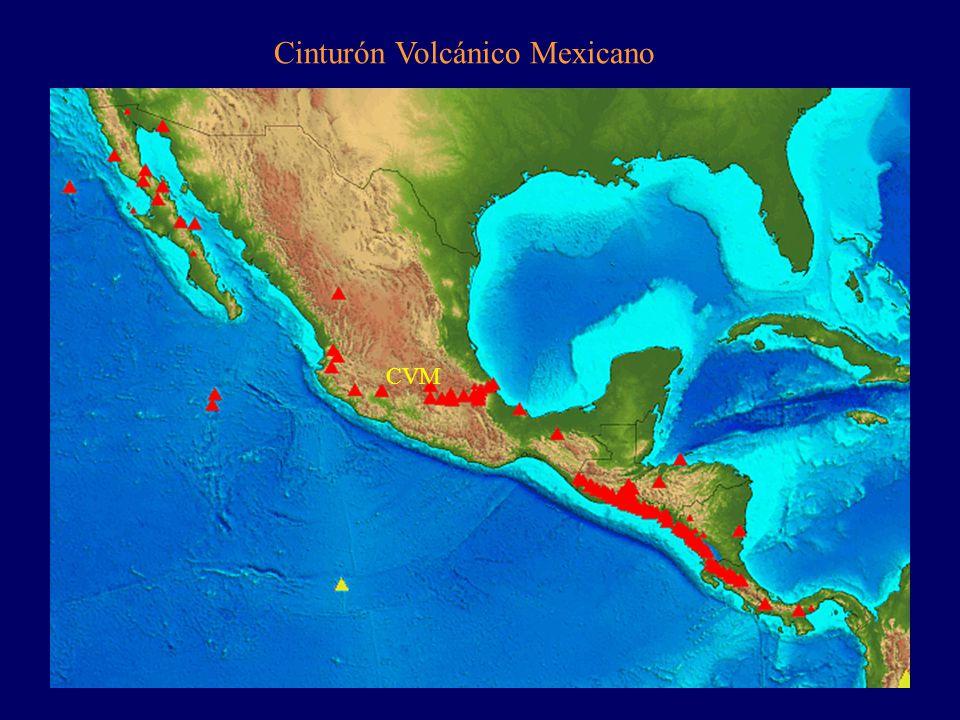 CVM Cinturón Volcánico Mexicano