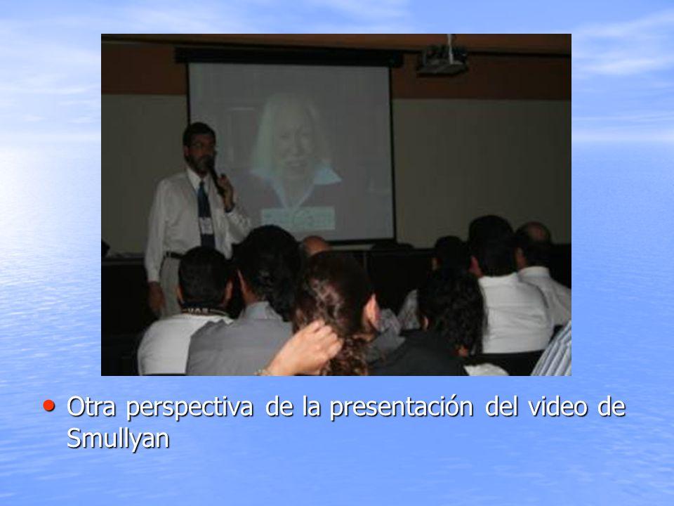 Otra perspectiva de la presentación del video de Smullyan Otra perspectiva de la presentación del video de Smullyan