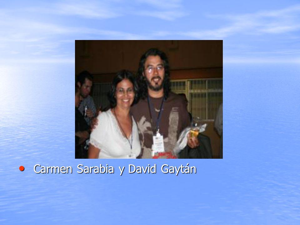Carmen Sarabia y David Gaytán Carmen Sarabia y David Gaytán