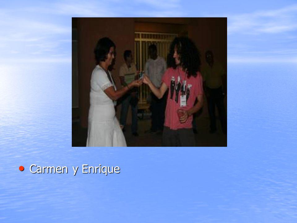 Carmen y Enrique Carmen y Enrique