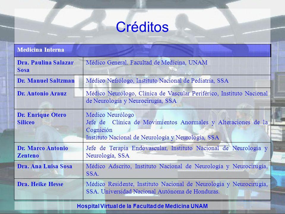 Hospital Virtual de la Facultad de Medicina UNAM Créditos Gastroenterología Dr. Mynor Adolfo Aguilar Vásquez Residente, Departamento de Gastroenterolo