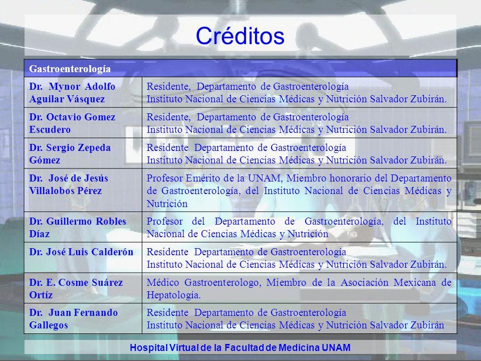 Hospital Virtual de la Facultad de Medicina UNAM Créditos Dermatología Dra. Obdulia Rodríguez Rodríguez. Directora General. Centro Dermatológico