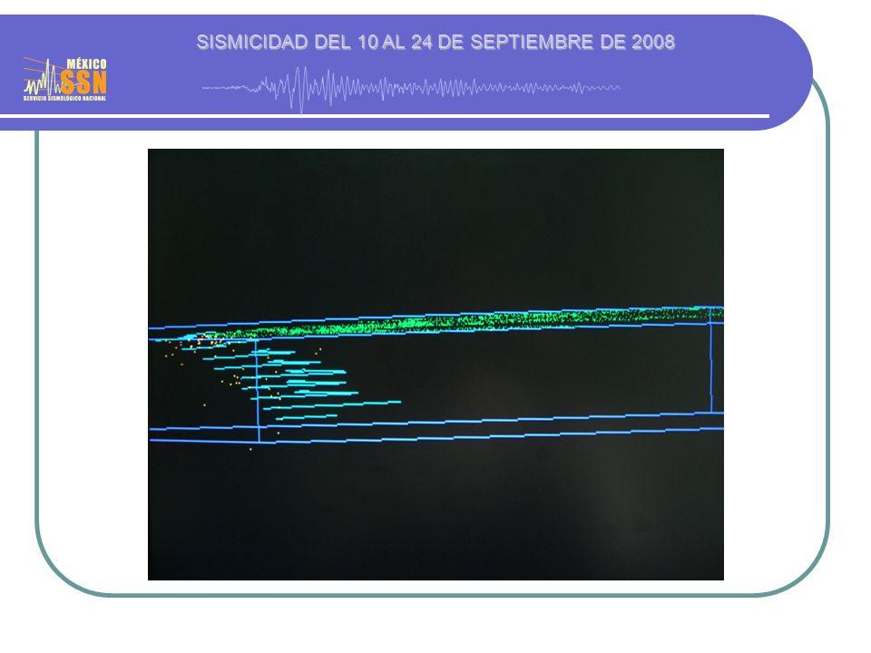 23 Septiembre 2008 20:46:05 (Hora local) Localización: Lat 22.46 Lon -97.54 (36 km al NE de Cd.