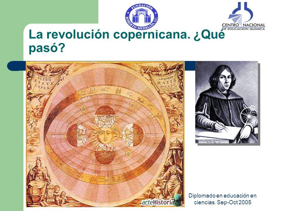 Diplomado en educación en ciencias. Sep-Oct 2005 La revolución copernicana. ¿Qué pasó?