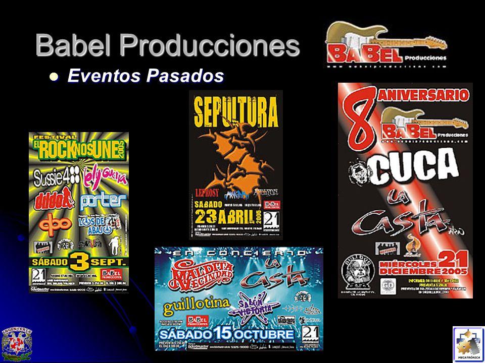 Babel Producciones Eventos Pasados Eventos Pasados