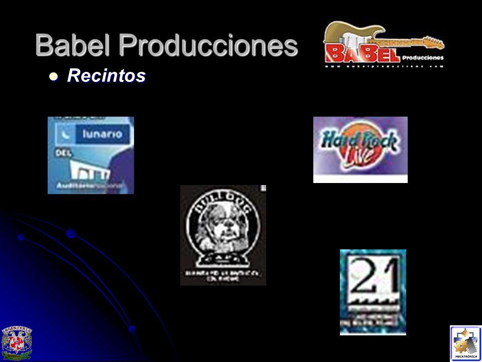Babel Producciones Recintos Recintos