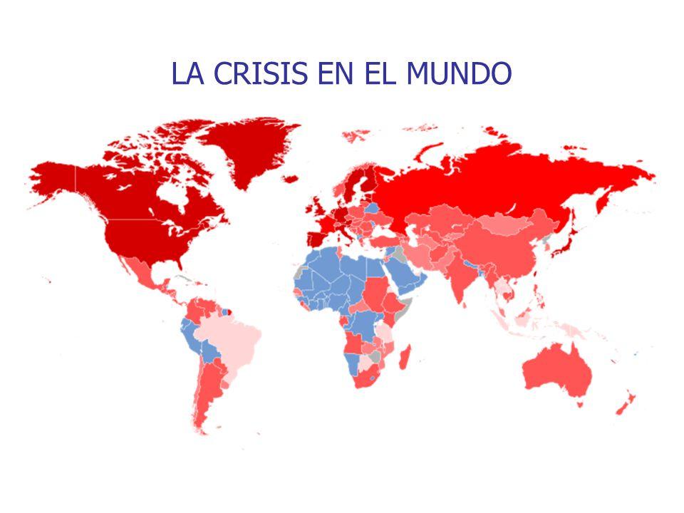 LA CRISIS EN EL MUNDO