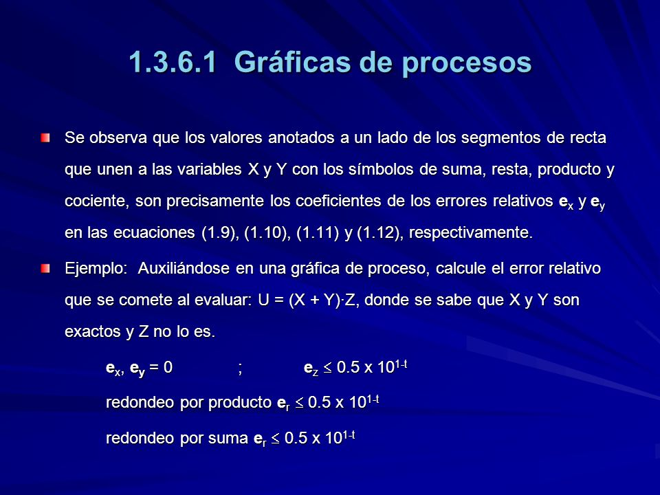 1.3.6.1 Gráficas de procesos Se observa que los valores anotados a un lado de los segmentos de recta que unen a las variables X y Y con los símbolos d