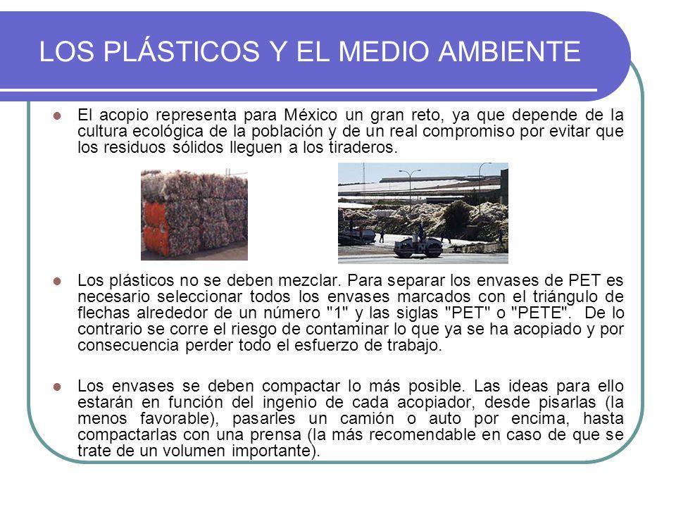 El acopio representa para México un gran reto, ya que depende de la cultura ecológica de la población y de un real compromiso por evitar que los resid