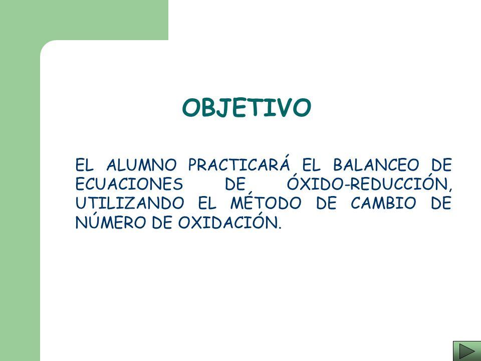 BALANCEO DE ECUACIONES DE ÓXIDO - REDUCCIÓN I. Q. HERMELINDA CONCEPCIÓN SÁNCHEZ TLAXQUEÑO